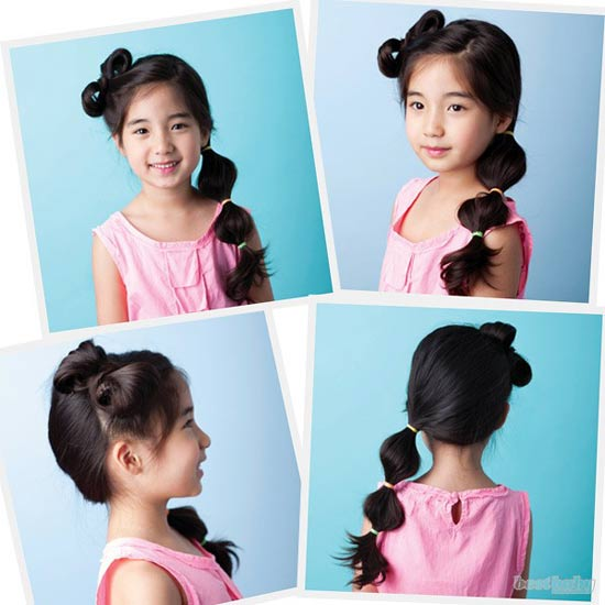 แบบทรงผมน่ารัก ๆ สำหรับเด็กจากเกาหลี