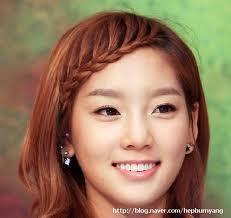 ไอเดียถักเปียหน้าม้าน่ารัก ไอดอลเกาหลี girls' generation