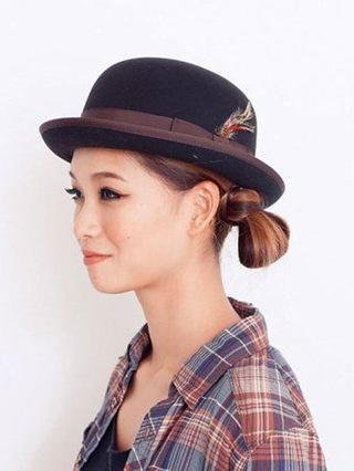 hat-ทำช่อผมให้เข้ากับหมวก-3