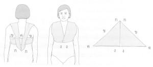การใช้ผ้าอ้อมแทนเสื้อยกทรง